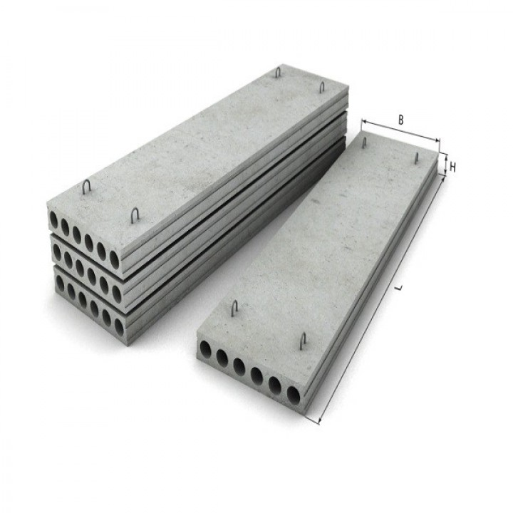 Плита перекрытия ПК 30-10-8