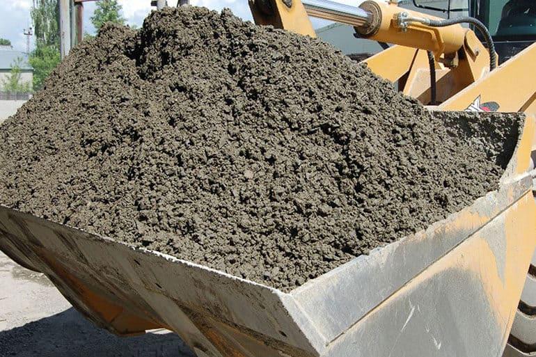 выделение бетона