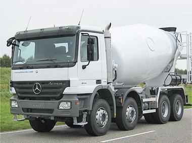 Автобетоносмесители - перевозка бетона