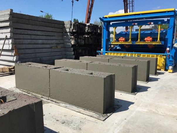 S бетон разлив бетона